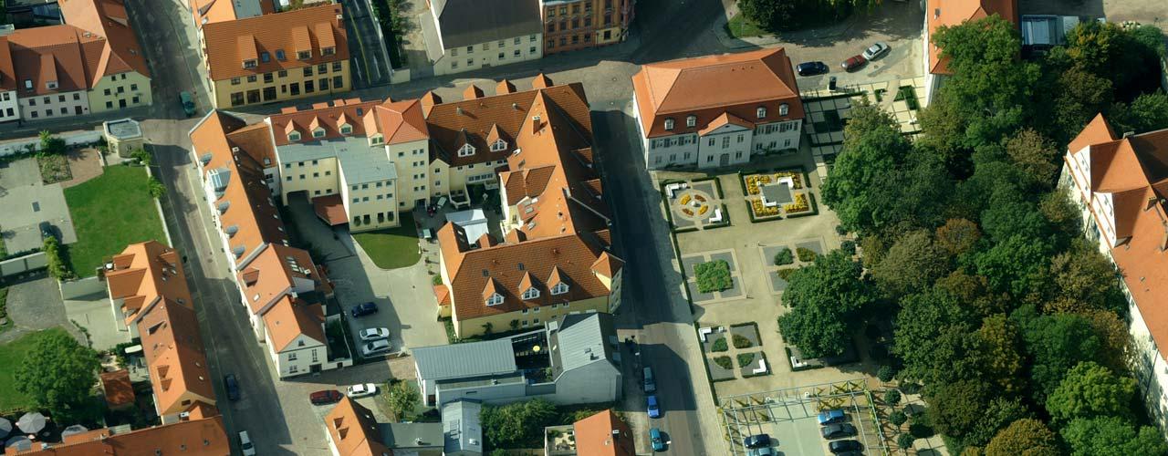Altenpflegeheim Koethen - Luftaufnahme